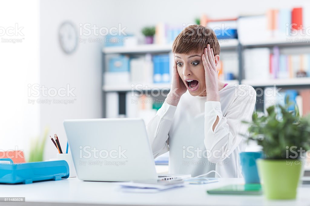 System failure stock photo