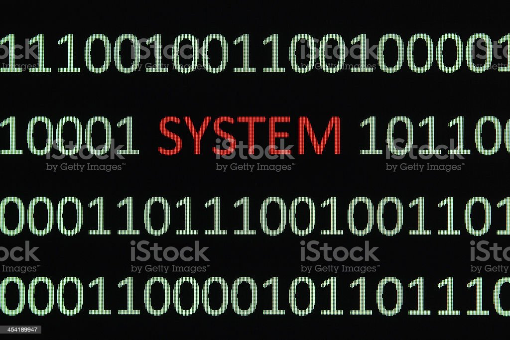 System royalty-free stock photo