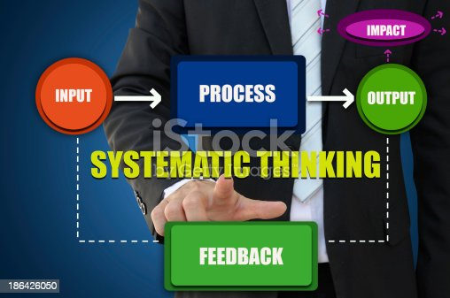 istock Systematic Thinking for Business Concept 186426050