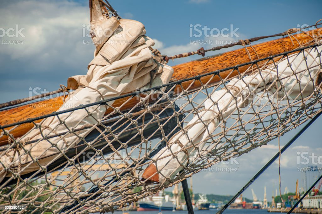 Szczecin Tall ship races august 2017 stock photo