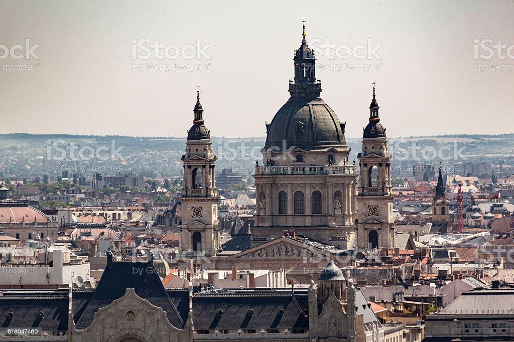 Szent Istvan Baslique, Budapest, Hungary stock photo