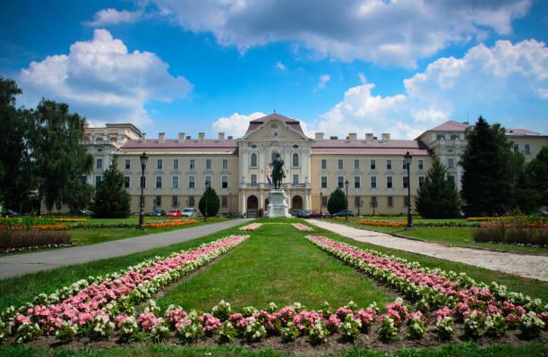 szent istvan university. godollo university. budapest. hungary. - harvard university stock photos and pictures