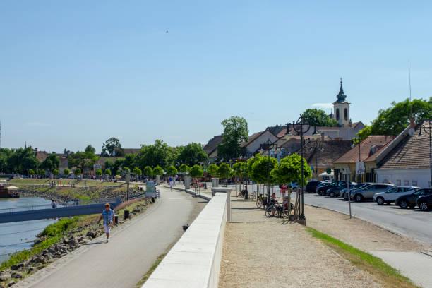 Szentendre in Hungary stock photo