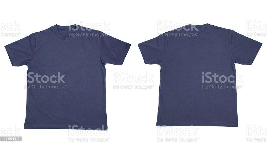 Abbigliamento bianco di t shirt - foto stock