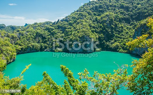 Ta Le Nai Lagoon at Koh Mae Island, AngThong National Marine Park, Samui