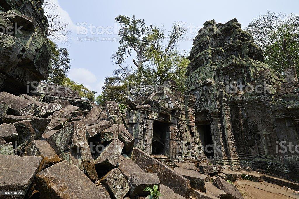 Ta Prohm Temple royalty-free stock photo