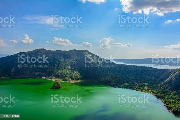 Photo of Taal Volcano, Luzon Island of the Philippines