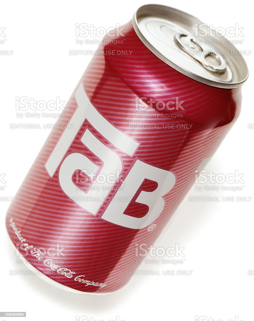 Tab soft drink. stock photo