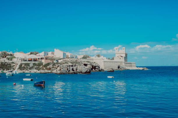 Tabarca island mediterranean sea stock photo