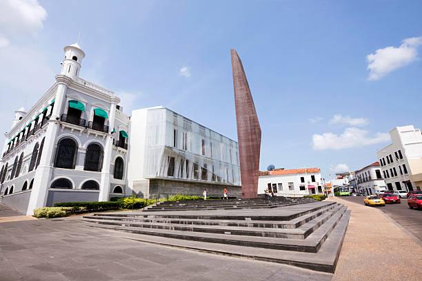tabasco bicentennial plaza stock photo