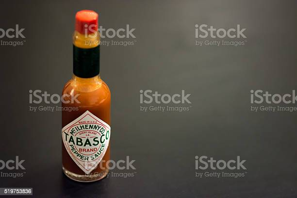 Tabasco Pepper Sauce Stock Photo - Download Image Now
