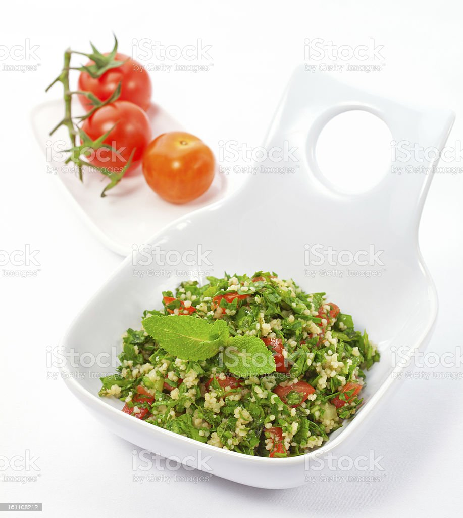 tabbouleh royalty-free stock photo