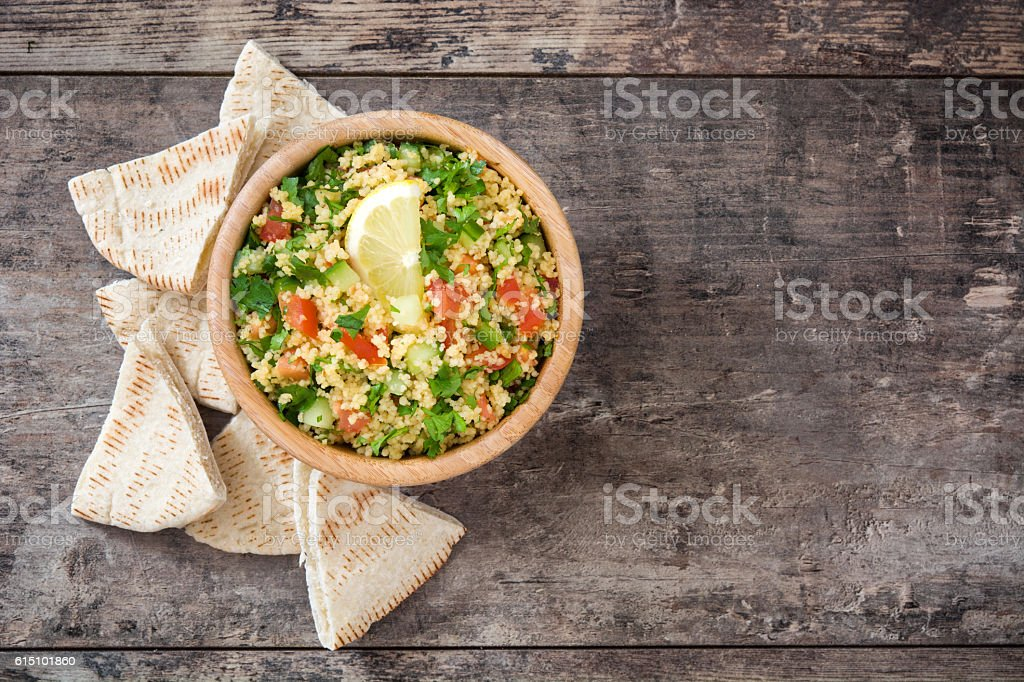 Tabbouleh salad with couscous - Photo