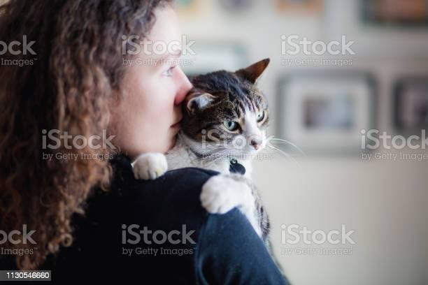 Tabby cat and a beautiful young woman picture id1130546660?b=1&k=6&m=1130546660&s=612x612&h=futktgqlhlry6ajmg0rpiyy2tigm bcqkdst30ushxu=