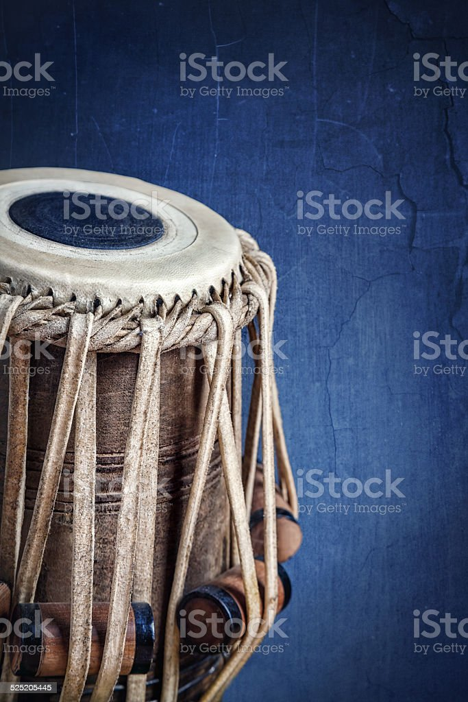 Tabla drum stock photo
