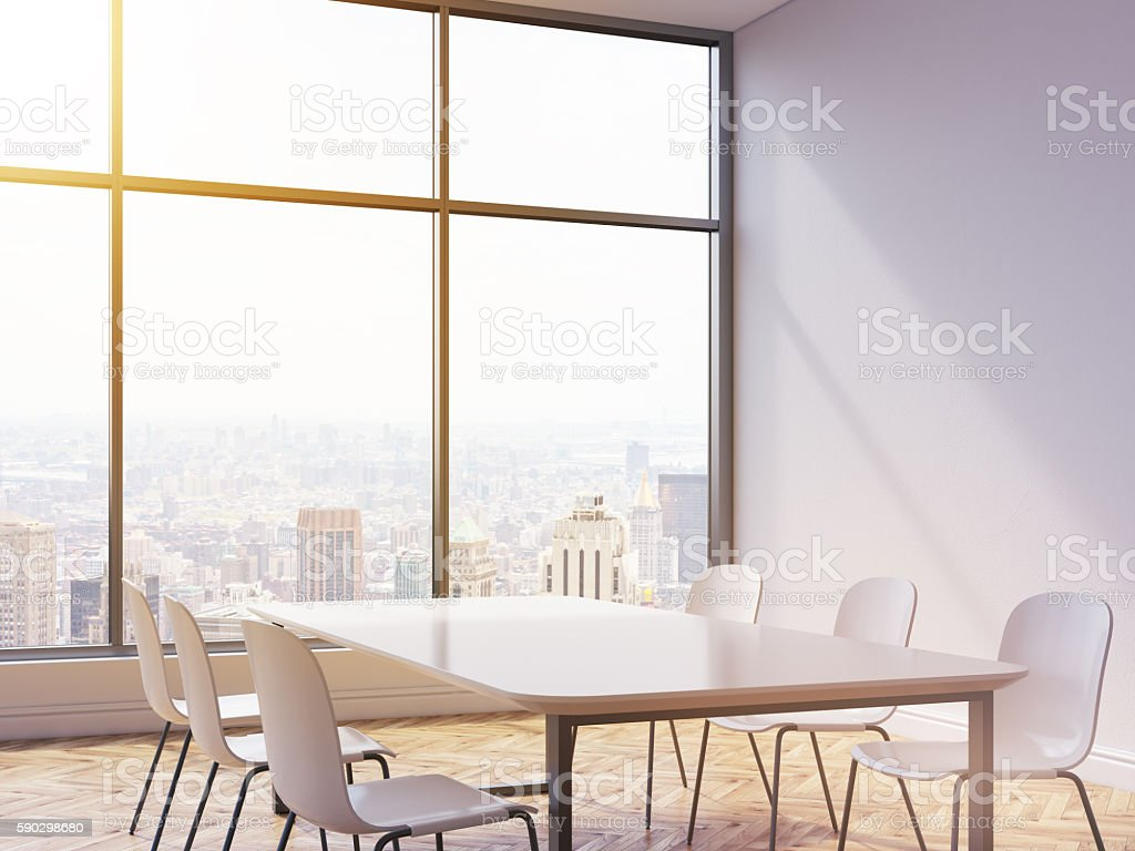Table and chairs in interior Стоковые фото Стоковая фотография
