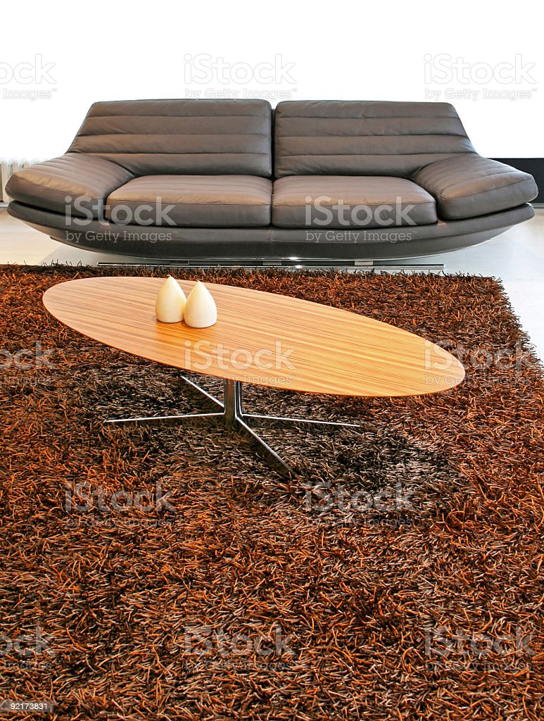 Table and sofa royalty-free stock photo