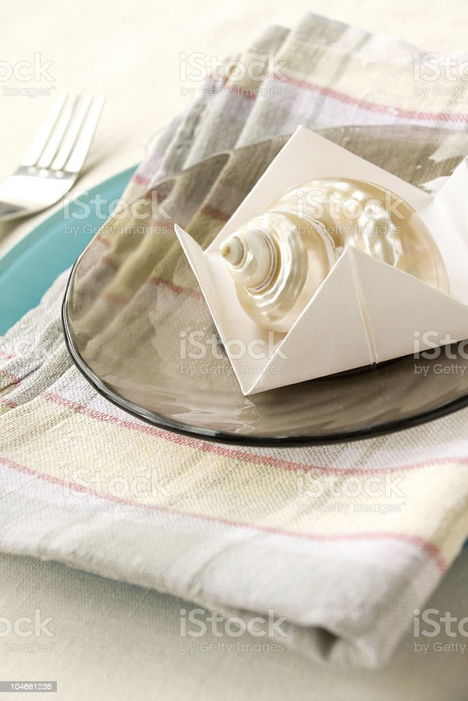 Table Appointments royalty-free stock photo
