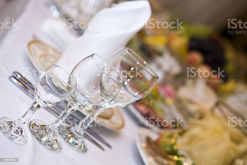 표 레스토랑. royalty-free 스톡 사진