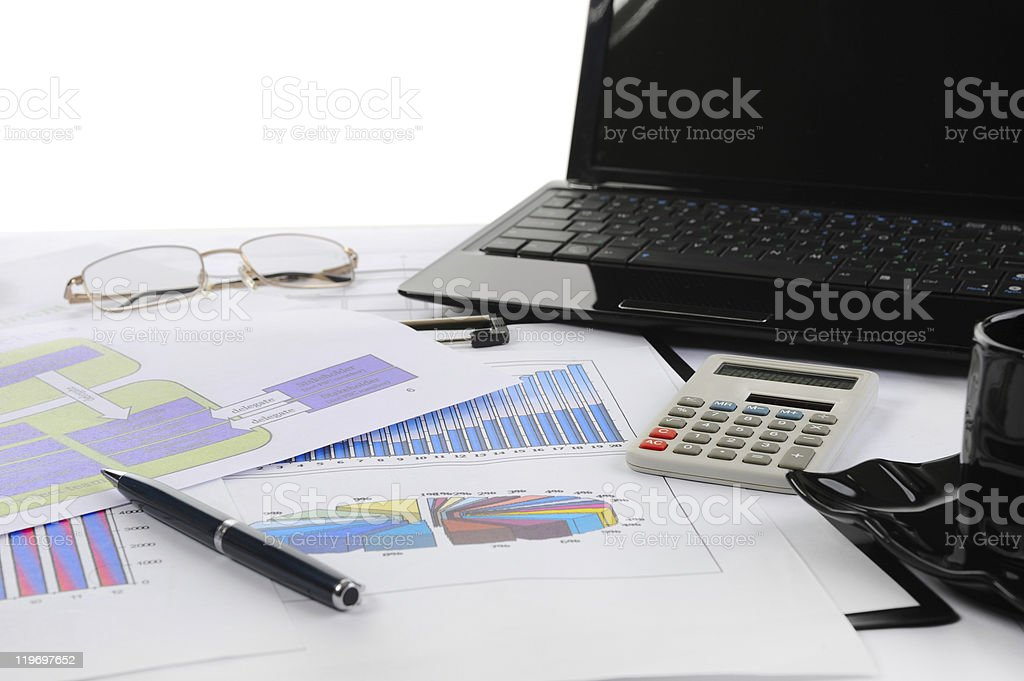 table businessman royalty-free stock photo