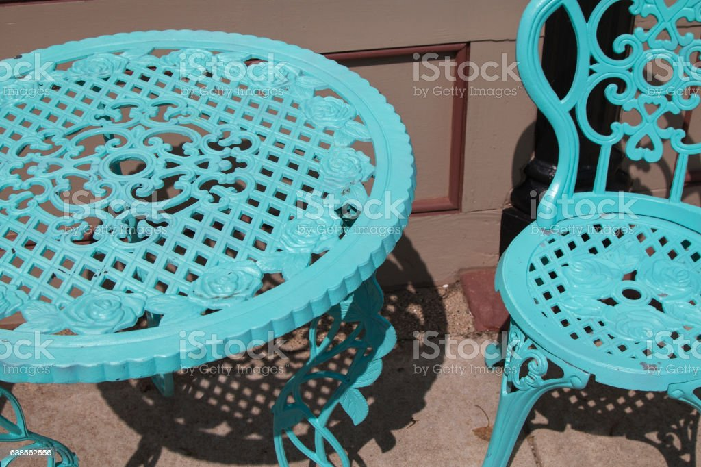 Table & Chairs stock photo