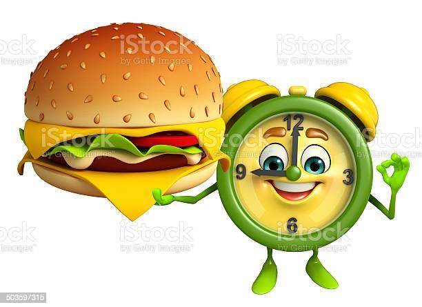 Table clock character with burger picture id503597315?b=1&k=6&m=503597315&s=612x612&h=npazvgc2ufxeutc dpke3pspqng4mis3wukcdsv87z4=