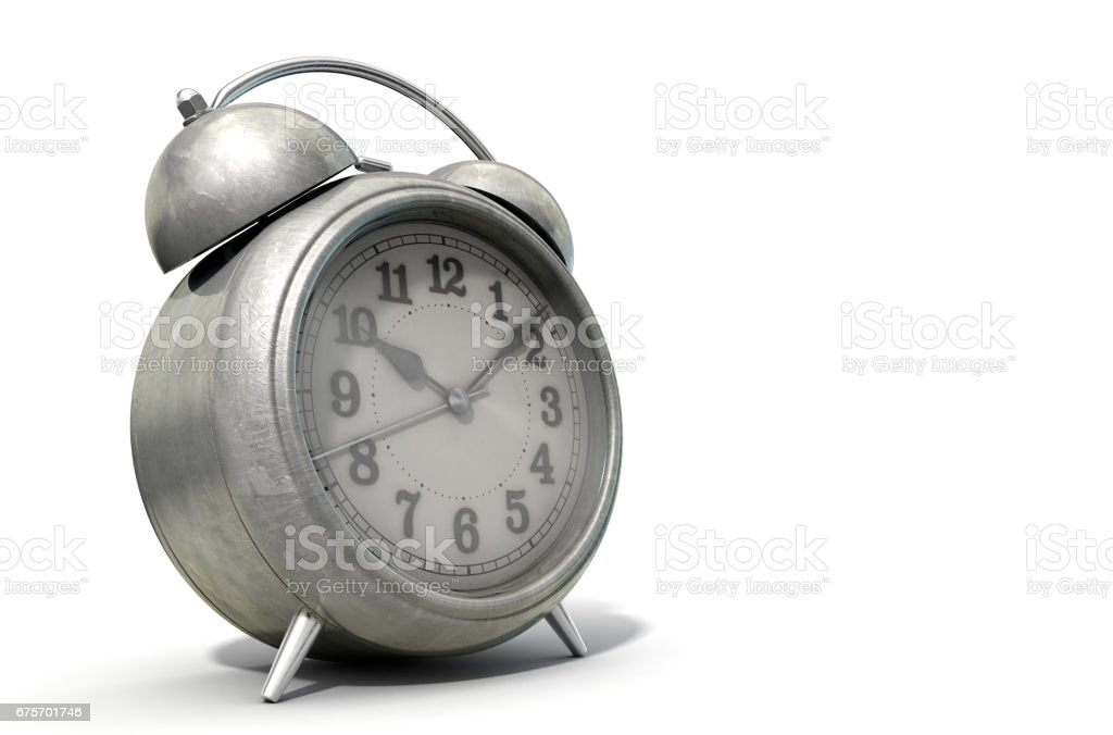 Table Clock royalty-free stock photo