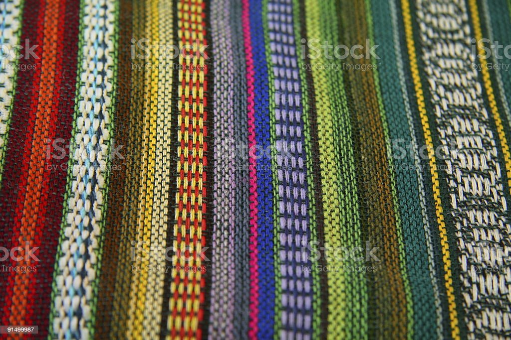 table cloth of colors royalty-free stock photo