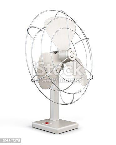 898247648 istock photo Table fan. 3d rendering. 506347378