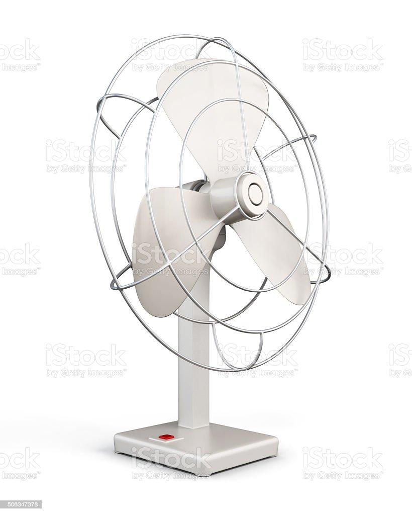 Table fan. 3d rendering. stock photo