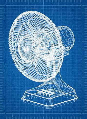 表風扇架構藍圖 照片檔及更多 健保和醫療 照片