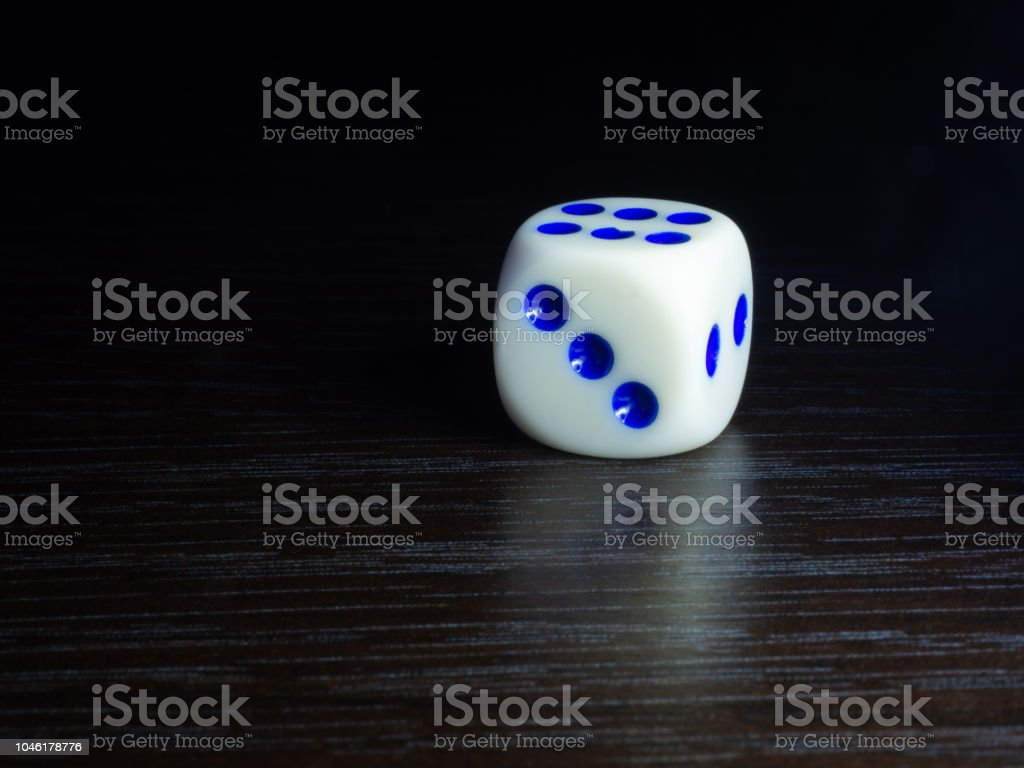 Table Gambling With Dice In The Evening With Dim Light On A Dark Background Stock Photo Download Image Now Istock