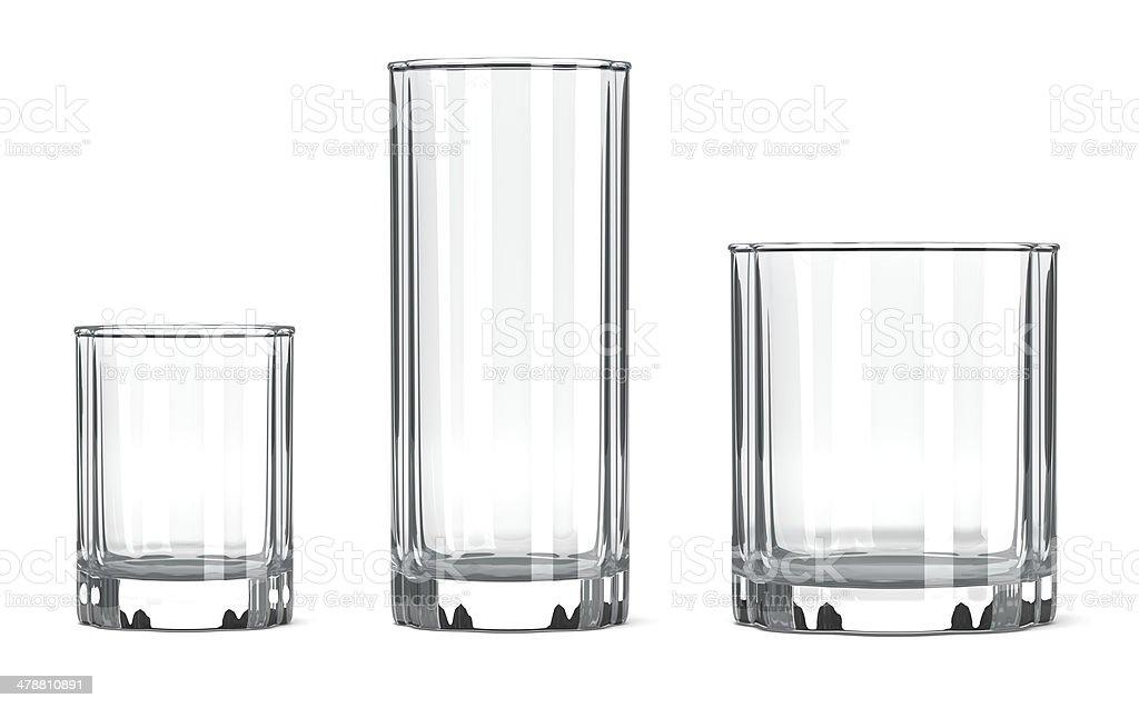 Table Glass Set stock photo
