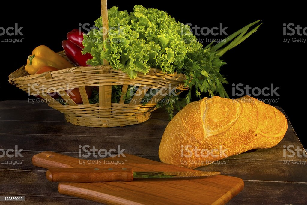 Table Gourmet royalty-free stock photo