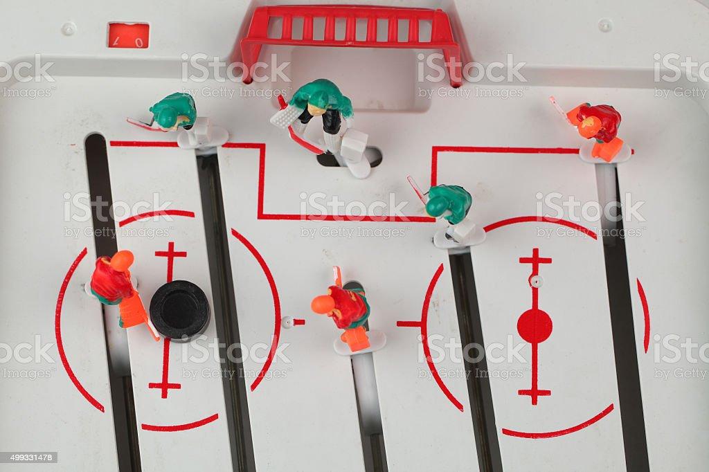 table hockey stock photo