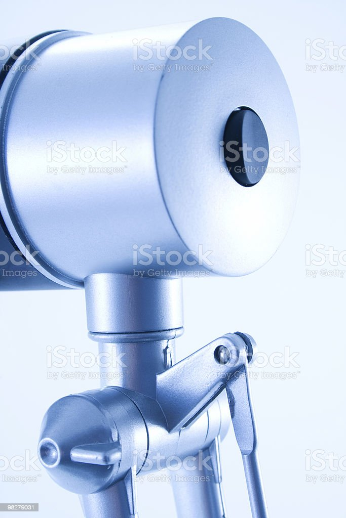 Table lamp detail royalty-free stock photo