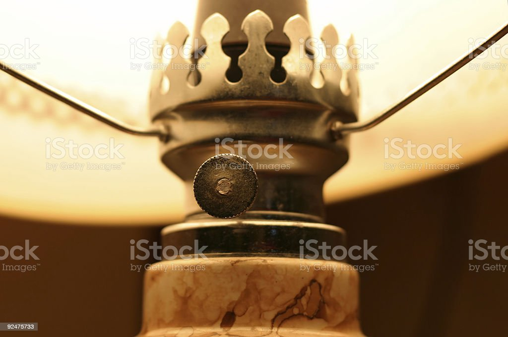 table lamp details royalty-free stock photo
