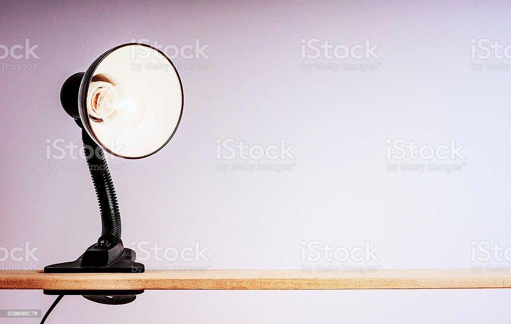 Tisch Lampe auf Wäscheklammer – Foto