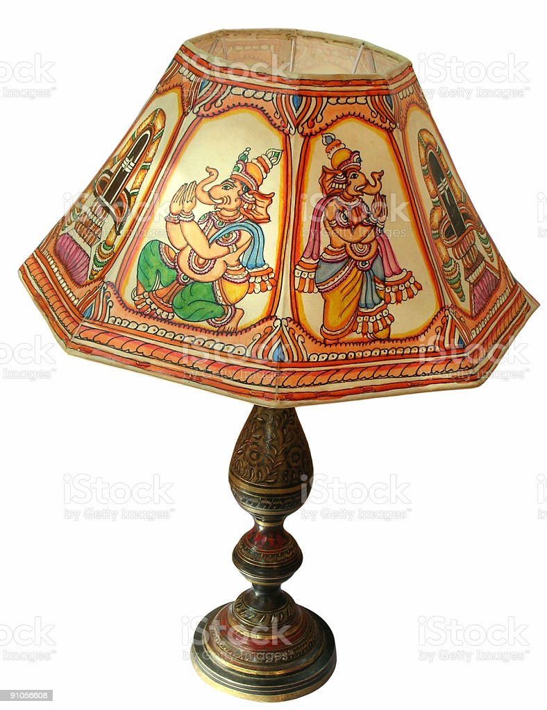 Table Lamp royalty-free stock photo