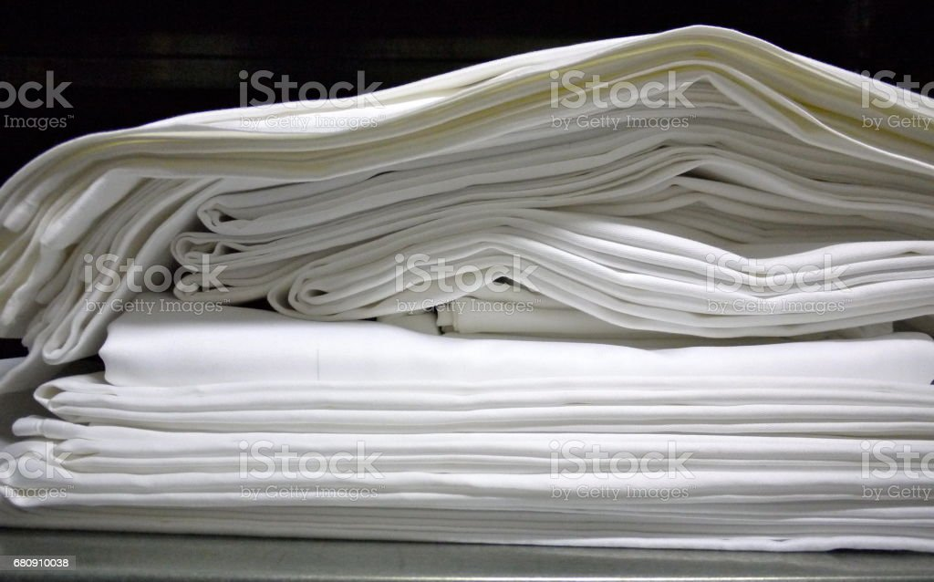 Table linen royalty-free stock photo