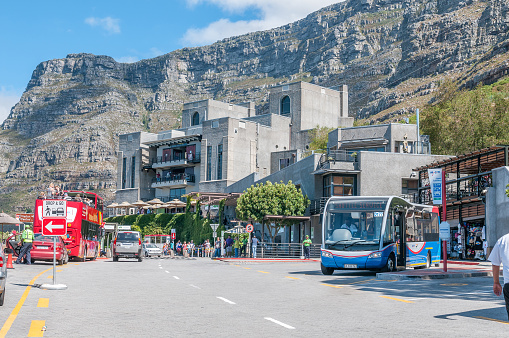 Table Mountain and the lower cable station