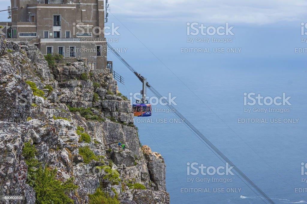 Table Mountain Cable Car stock photo