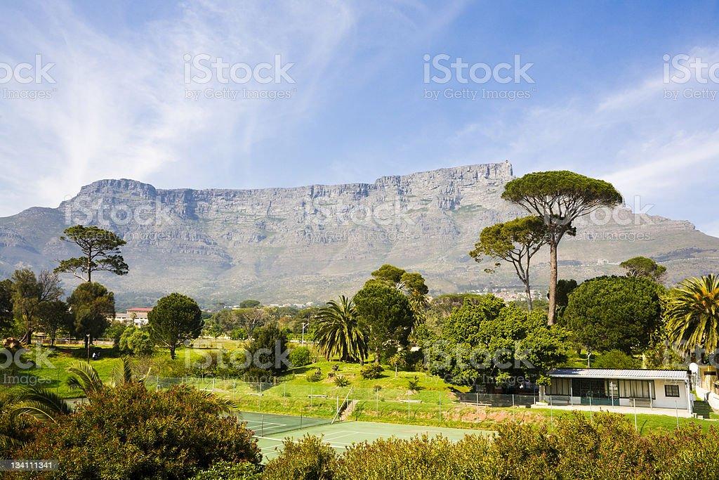 Table Mountain, Cape Town stock photo