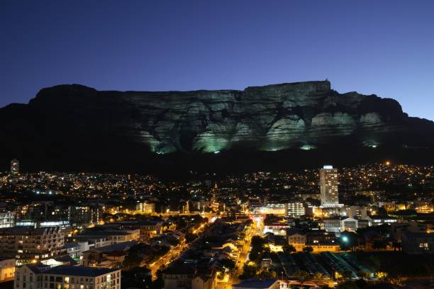 table mountain - table mountain national park stock pictures, royalty-free photos & images
