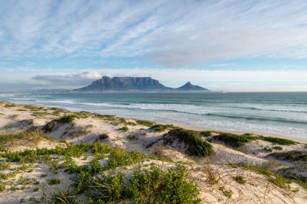 Table Mountain stock photo