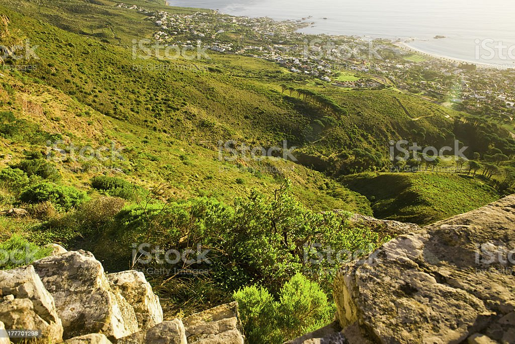 Table mountain royalty-free stock photo