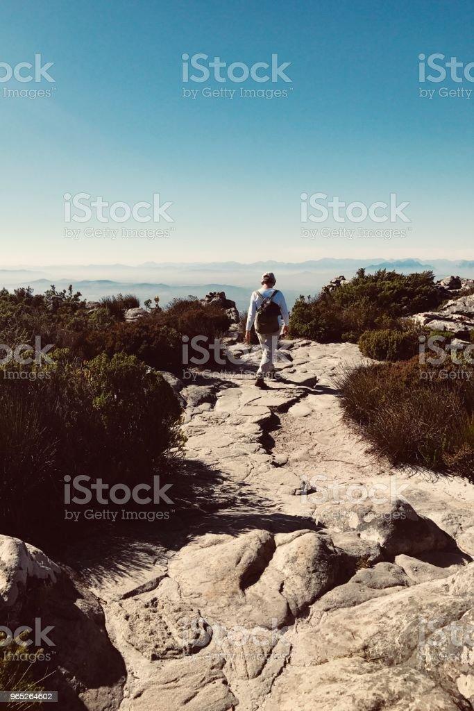 Table Mountain zbiór zdjęć royalty-free