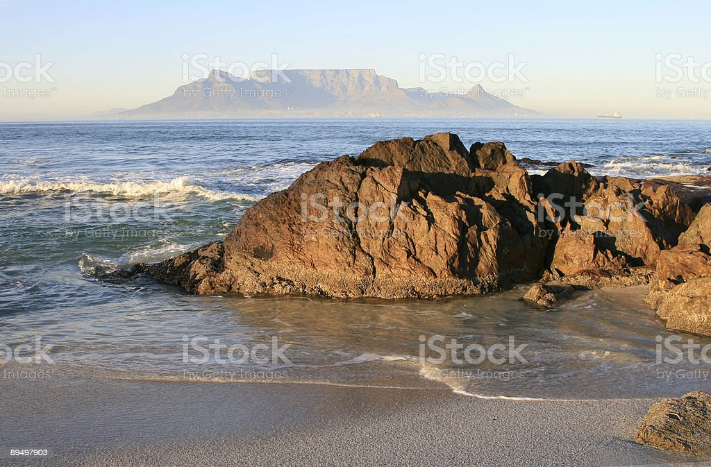 Table Mountain, South Africa royalty free stockfoto