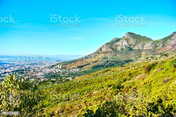 Stół Z Widokiem Na Górę Capetown Republika Południowej Afryki - zdjęcia stockowe i więcej obrazów Afryka