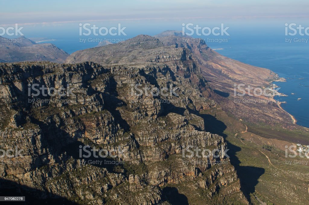 Table Mountian Cape Town, South Africa stock photo